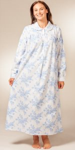 Peter-Pan-Flannel-Nightgown-Lanz-Wedgewood-Roses-CL563687-167-B